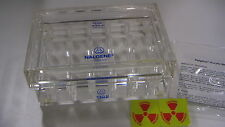 Nalgene Acrylic Radiation shield for 0.5ml tubes BNIB