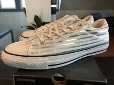 Converse CTS Ox x Fragment Design Silver Size 11 Style 148372C