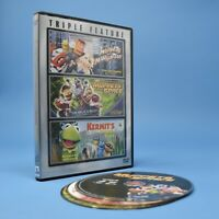 The Muppets Triple Feature DVD Take Manhattan From Space & Kermit's Swamp Years