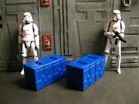 Star Wars Award Winning Custom Cast Battlefront Crates Diorama Parts Free Ship