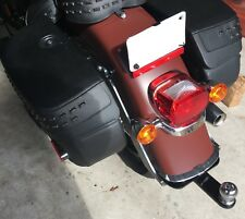 2018 Hidden Harley Softail Trailer Hitch H10-310 with Removable Tow Bar and Ball