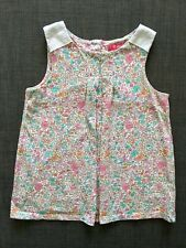 Next girls floral top 100% cotton t-shirt. Size 4-5 years.