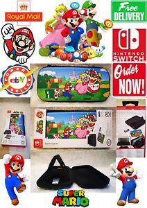 Nintendo Switch lite Super Mario Mashroom Stealth Case Kit HIT!! BEST EVER!!!