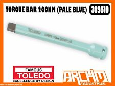 TOLEDO 309510 - TORQUE BAR - 200NM (PALE BLUE) - 195MM WHEEL NUTS BOLTS TENSION