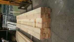 Planed timber pine