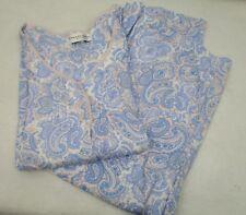 Women's Miss Elaine Lace Trim Crop Pajamas 2X
