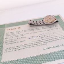 Rolex Air King Two Tone Automatic Steel Gold Oyster Watch 5500 With Papers 1975