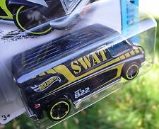 2014 Hot Wheels 49/250. SWAT Super Van. Police Rescue. HW City. New in Package!