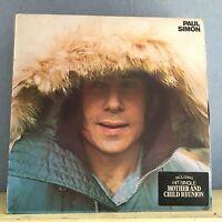 PAUL SIMON Paul Simon 1972 UK vinyl LP  EXCELLENT CONDITION Same self titled D