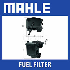 Mahle Fuel Filter Assembly KL431D - Fits Ford, Peugeot - Genuine Part