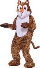 Morris Costumes Adult Unisex Tiger Mascot Complete Outfit One Size. FM68213