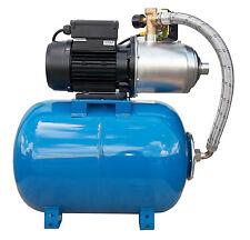 "IBO 1""HP1500 INOX 2HP 1.5kW Self Priming Booster Set Pump & 50L Pressure Vessel"