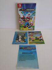 Boite Jeu Nintendo Switch Mario + Lapins Crétins Kingdom Battle Ubisoft