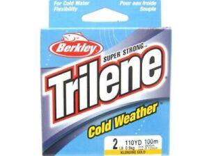 Berkley 1417810 Klondike Gold Cold Weather 110 Yrd 2 Lbs Fishing Line