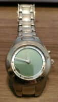 Fossil Big Tic Patterned Animated Seconds Stainless Watch BG-1074