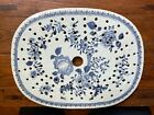 Antique CHINESE EXPORT PORCELAIN PLAQUE WITH DRAIN 18th C  about 14  RARE