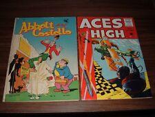Golden Age lot of 29 comic books-includes Superhero, EC, humor, war, etc.