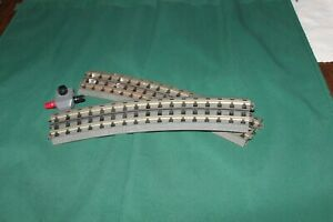 Two  MTH Solid Rail 0-72 Curves & Power Connection -  O Gauge