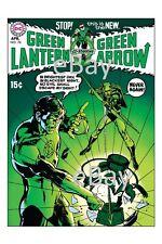 GREEN LANTERN #76 COVER PRINT 1st GREEN ARROW TEAM UP Neal Adams art