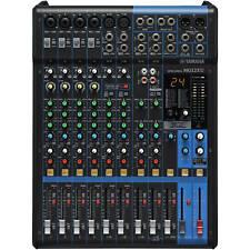 Yamaha mg12xu - 12 canal Studio mesa de mezclas mezclador pa escenario-OVP & nuevo