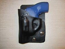 Ruger Lcr with CT laser grip laser, leather right hand, wallet & pocket holster