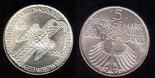 """1952 - 5 DM Gedenkmünze """"Germanisches Museum"""", vz-st"""