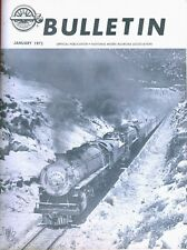 NMRA Bulletin 1975 National Model Railroad Association 12 issues Train Binder FW
