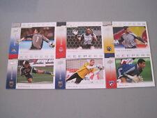 R71 2008 Upper Deck MLS Keepers Insert Set of 17 Cards Soccer Reis Sala Bure
