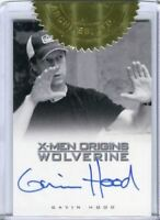 X-Men Origins: Wolverine Movie Director Gavin Hood Autograph Card