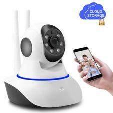 720p WiFi PTZ Home Security Spy Surveillance Nanny Camera Night Vision 2Way Audi