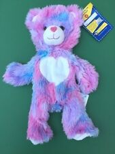Build a Bear Retired 16 in. Furever Hearts Bear Plush Toy - UNSTUFFED - NEW