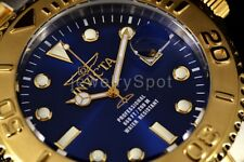 15181 NEW Invicta 47mm Pro Diver Blue Dial Gold Tone Bezel Two Tone SS Band Watc