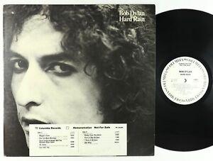 Bob Dylan - Hard Rain LP - Columbia PROMO