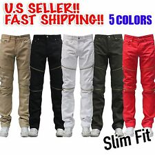 Slim Fit jean zipper jeans With Golden Zippers Maxi Milian Like Balmain skinny
