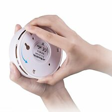 Carbon Monoxide CO Gas Sensor Alarm Detector w/ LCD Display Battery Powered