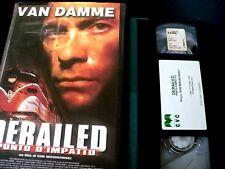 DERAILED-PUNTO D'IMPATTO_VAN DAMME_ VHS EX NOLO_ FILM AZIONE 2002_ VHS USATA