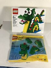 Lego Brickley Combo #3300001 & Loch Ness Monster #40019 - Rare