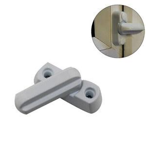 Security UPVC Aluminum Window Door Lock Sash Jammer Home Window Security Lock US