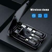 Multi-function Universal Smart Adaptor Card Storage Box Wireless charging- New