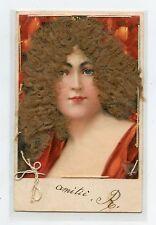 Portrait de femme . AJOUTIS CHEVEUX . HAIR . Chatain. Dark blond