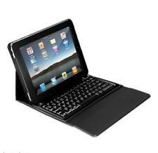 BLACK IPAD CASE WITH BLUETOOTH KEYBOARD INNOVATIVE TECHNOLOGIES ITIP4000R RB