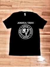 U2 Joshua Tree Ramones tribute concert tshirt Xl limited edition! Super rare!