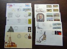 South Africa 10 Covers 1976 to 1978 Painter Animals ISCOR Harbours Annexation ++