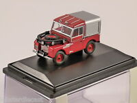 """LAND ROVER 88"""" S1 FIRE - 1/76 scale model OXFORD DIECAST"""