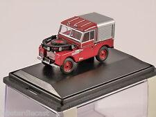 """Land Rover 88"""" S1-feu échelle 1/76 Modèle OXFORD DIECAST"""