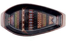 Una grande metà del secolo STUDIO POTTERY FISH Dish. in terracotta. ITALIANO? 2 del 2