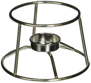 American Metalcraft CIFDR Stainless Steel Fondue Pot Stand, 5-Inch Diameter