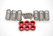 NEU Ducati Kupplung Kupplungsfedern Federteller rot / clutch springs with caps