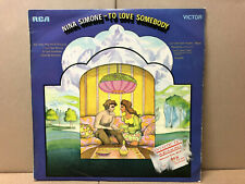Nina Simone ‎– To Love Somebody -  RCA Victor ‎– RD 8018