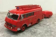 Hachette Le Fourgon d'incendie Gruau sur Citroën Type N SP pompiers 1:43